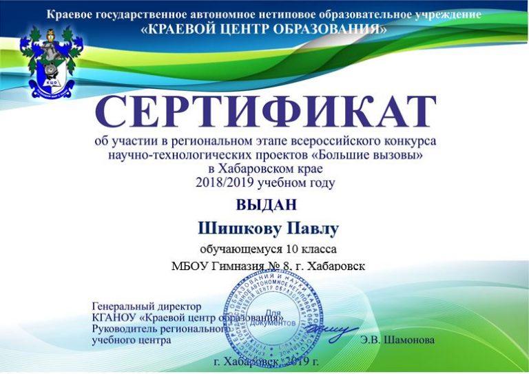 Шишков П.